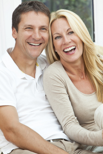 Dental Implant Solutions in Washington Dr Wade Smiling Couple